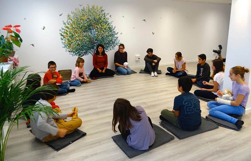 Mindfulness para niños y jóvenes
