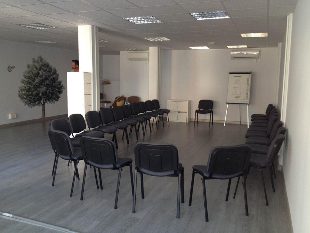 Sala de cursos MBSR Mindfulness